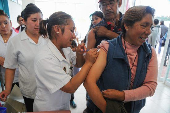 Aplica Edoméx un millón 600 mil vacunas contra influenza