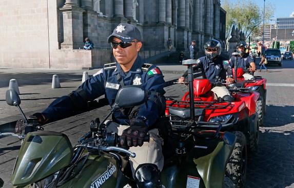 Pone en marcha Policía de Toluca grupo especial Saturno