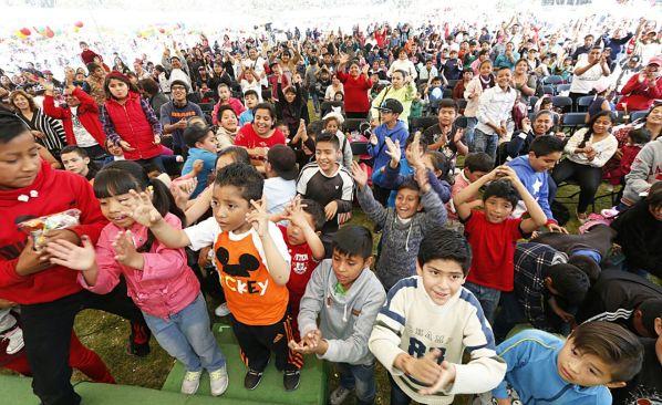 Asisten más de diez mil personas a festejo de Día de Reyes organizado por el H. Ayuntamiento de Toluca