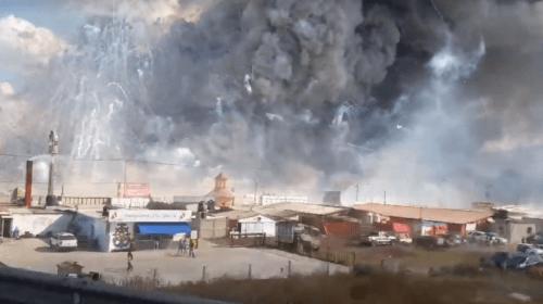 Dan de alta a otro lesionado por las explosiones de Tultepec, Estado de México