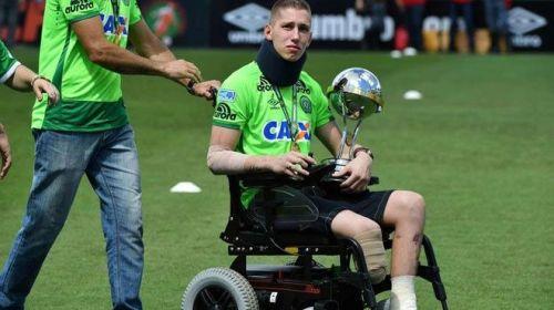 Jackson, jugador del Chapecoense regresa a cancha sin pierna