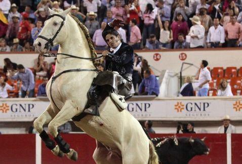 Captan a Emiliano Gamero agrediendo a su caballo