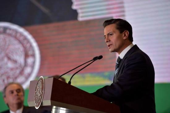 Ante negociación con EU, actuaré en defensa de soberanía de México: Peña Nieto