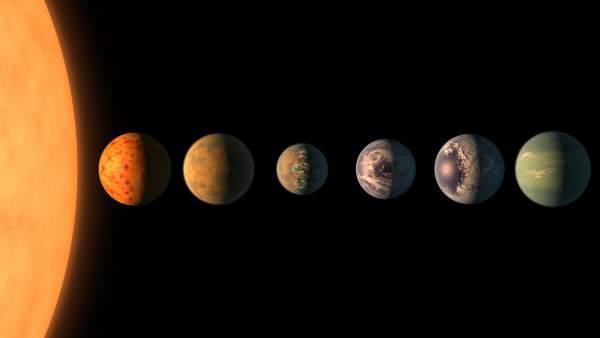 Descubre NASA 7 planetas donde podría albergar vida
