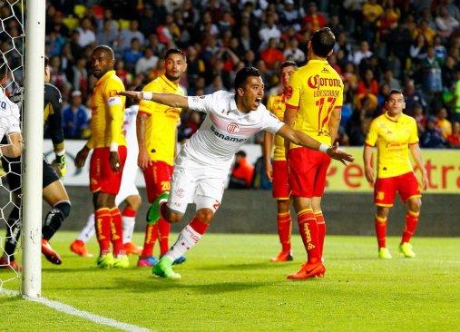 Morelia perdió 1-2 ante Toluca por la fecha 7 de la Liga MX
