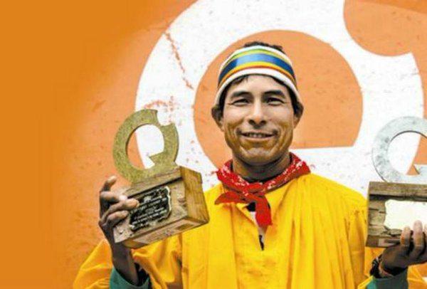 Triunfa rarámuri en carreras de montaña por el mundo