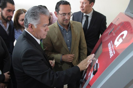 Inauguran GEM y H. Ayuntamiento de Toluca módulo inteligente en Pasaje Terminal
