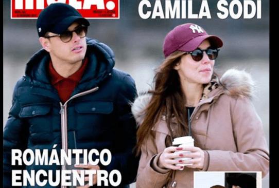 'Chicharito' y Camila Sodi, en 'romántico encuentro'