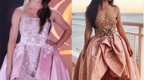 Guerra de vestidos entre Becky G y Rubí