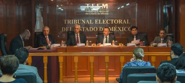 El Tribunal Electoral del Estado de México proteje de los derechos político-electorales del ciudadano