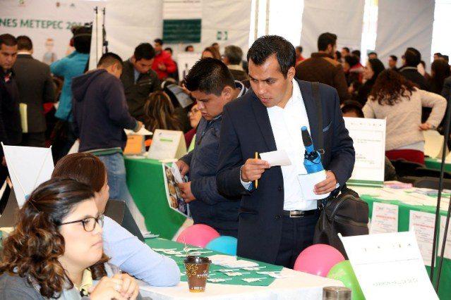Metepec logró más de mil 700 colocaciones en las Ferias del Empleo en 2016