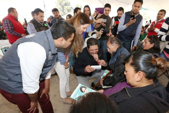 Ampliarán beneficiarios de Metepec con el seguro popular