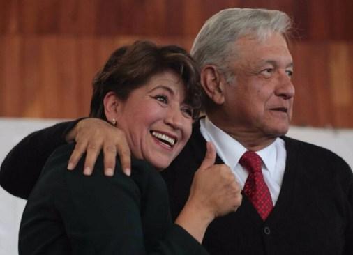 Multa a Delfina Gómez y a Morena por actos anticipados de campaña