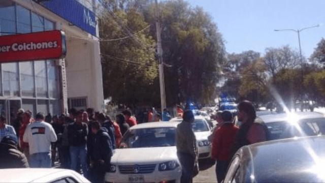 """Sigue la """"cacería"""" de Uber en San Luis Potosí"""