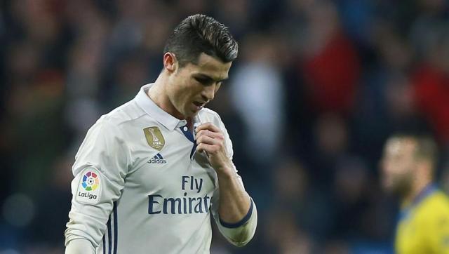 Cristiano es baja con el Real Madrid