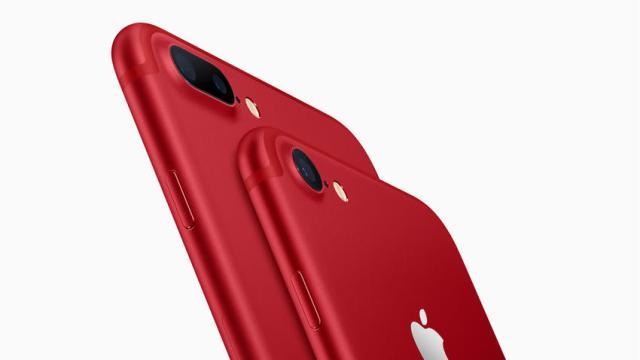 Lanzan nuevo iPhone 7 rojo edición especial