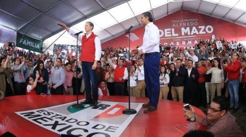 Los mexiquenses quieren un cambio y yo también: Alfredo Del Mázo