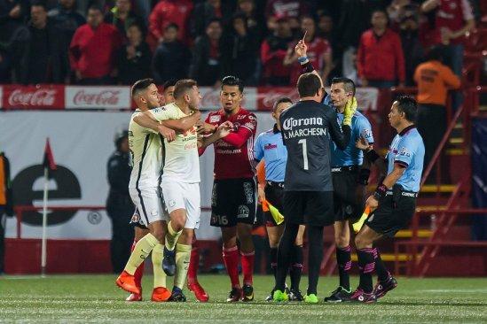 Peláez 'No fue agresión' lo que paso con el árbitro