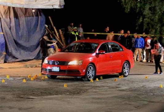 Dos muertos y dos heridos tras balacera en Edomex