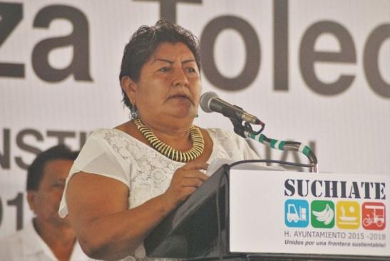Detiene PGR a la alcaldesa de Suchiate, Chiapas