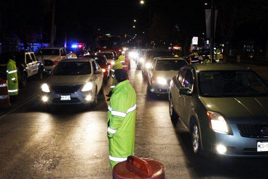 En 2017 se han detenido a 114 personas por conducir alcoholizados en Toluca