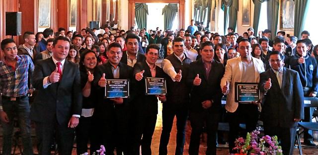 Premia Toluca a jóvenes destacados del Certamen Municipal de Ciencia y Tecnología