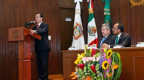 Jorge Olvera encabezó informe de la Facultad de Antropología