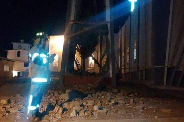 Explosión en Toluca deja 5 heridos
