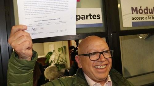 Isidro Pastor se registra como candidato independiente
