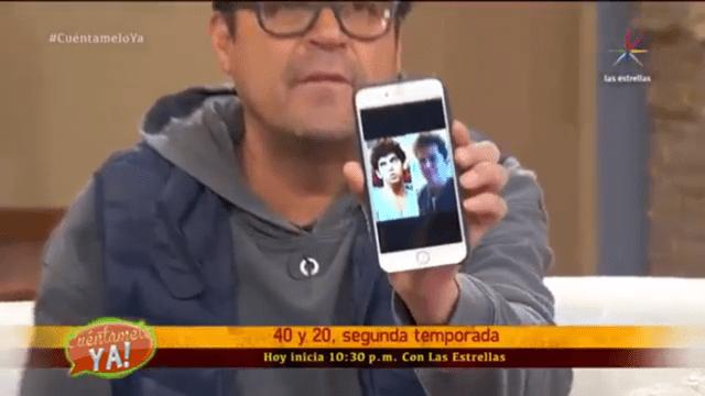 """Foto y video: Esto es lo que """"El burro"""" mostró por accidente"""