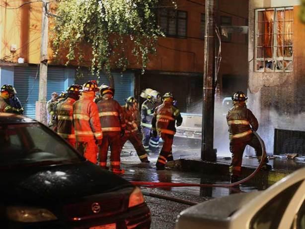 Fuga de gas provoca explosión en la Agrícola Oriental