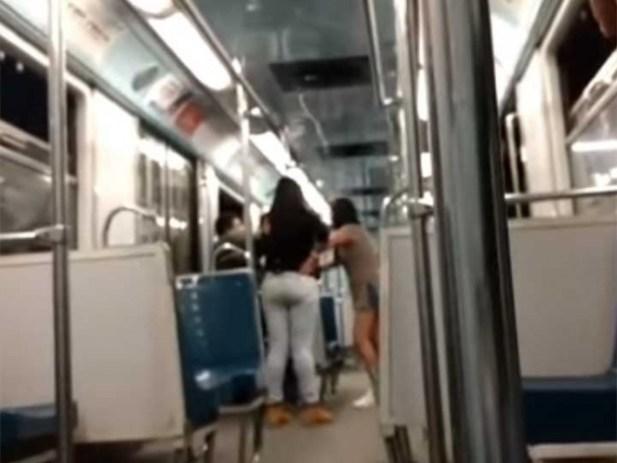 VIDEO: Mujeres encaran a acosador en el Metro
