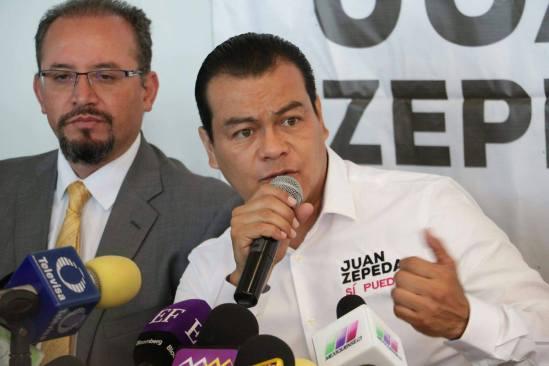 Juan Zepeda hará gratuito el Circuito Exterior Mexiquense