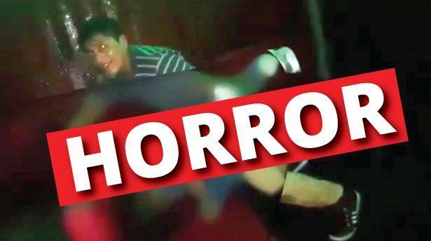 VIDEO: Violan a joven inconsciente en un bar