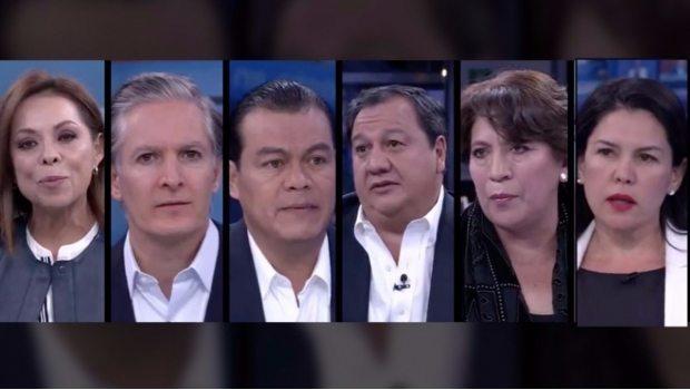 Candidatos del Edomex listos para el primer debate