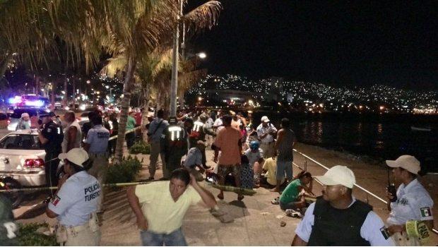 Balacera en la costera de Acapulco deja un muerto