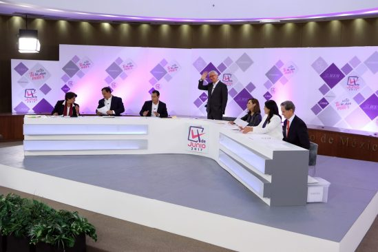 Descalificaciones y acusaciones las ganadoras del primer debate