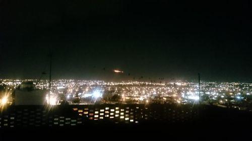 Incendio en el Nevado de Toluca
