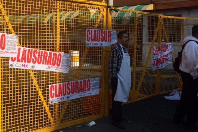Clausuró la taquería 'El Borrego Viudo' otra vez