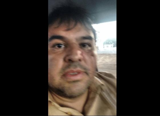 RELATO: Policías agreden a periodista en Feria de Texcoco