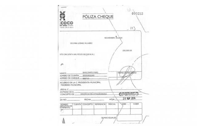 Los bonos de Delfina Gómez y su equipo