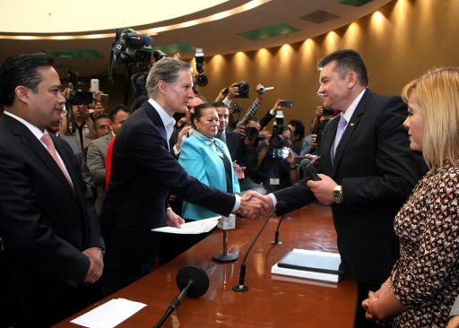 Aprueba IEEM candidatura de Alfredo Del Mazo Maza al gobierno del Estado de México