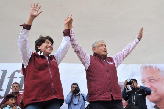 Estamos a punto de escribir una nueva historia en el estado de México: Lopez Obrador