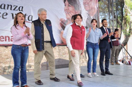 Delfina Gómez pidió  a Josefina Vázquez Mota ponerse a trabajar