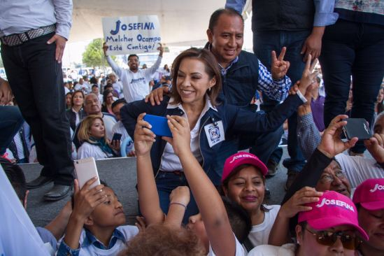 Josefina Vázquez Mota se comprometió a crear una Universidad y planteles de Bachillerato en Melchor Ocampo