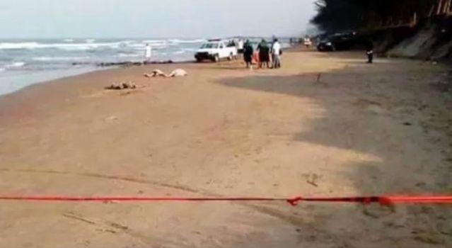 Muere familia mexiquense ahogada en playa de Veracruz