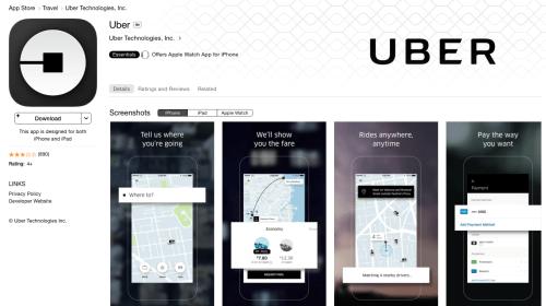 Apple advirtió a Uber en borrarlo de la App Store