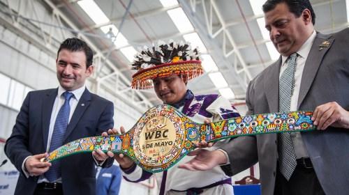La pelea de 'El Canelo' y Julio César Chávez Jr.  el cinturón será 100% tradición mexicana