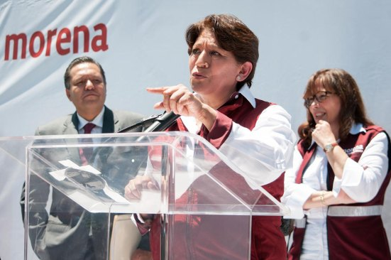 Peña no debe meter mano en el Edomex: Delfina Gómez