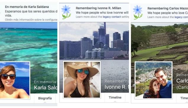 Rinde homenaje Facebook a víctimas de choque en Reforma